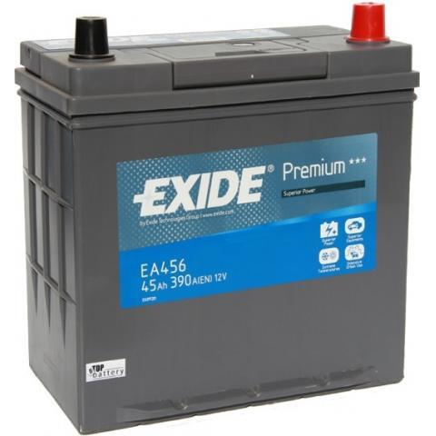 Autobatéria EXIDE Premium 12V, 45AH, 390A - EA 456