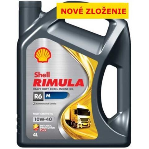 Shell Rimula R6M 10W-40 4L