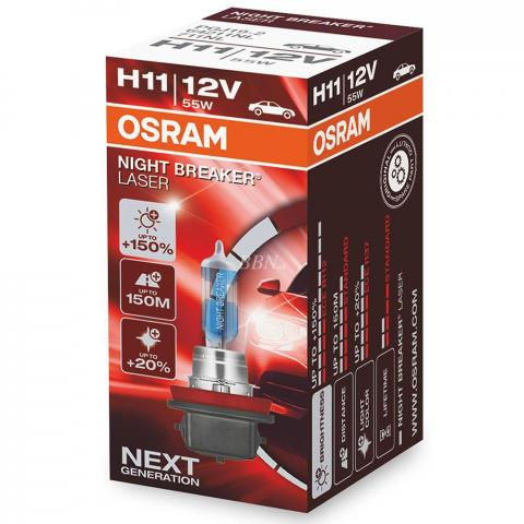 Osram Night Breaker Laser GEN2 64211NL H11 PGJ19-2 12V 55W