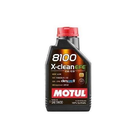 Motorový olej Motul 8100 X-Clean EFE 5W-30 1 l
