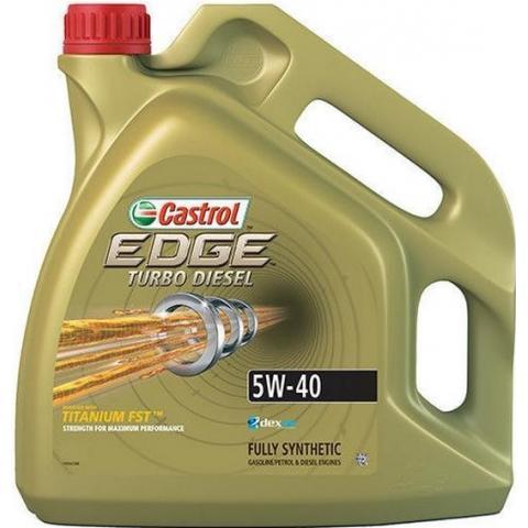Motorový olej Castrol Edge Turbo Diesel Titanium  5W-40 4L.