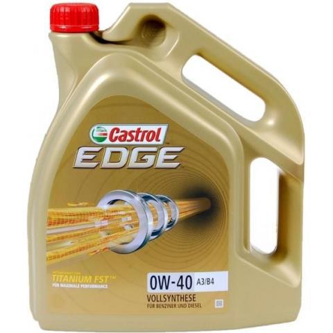 motorový olej CASTROL EDGE TITANIUM FST 0W-40 4L.