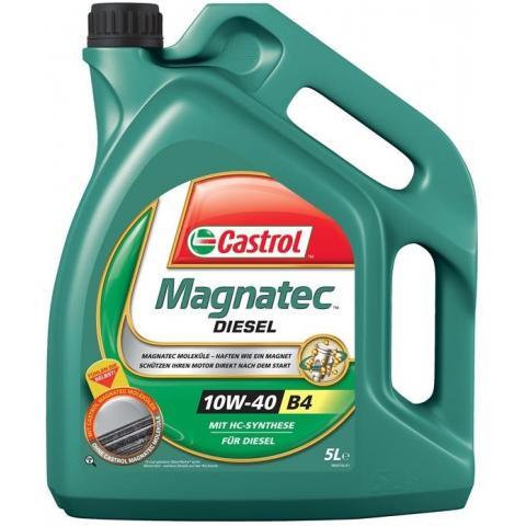 Motorový olej CASTROL MAGNATEC DIESEL B4 10W-40 5L