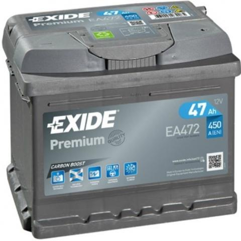 Autobatéria Exide Premium 12V 47Ah EA472
