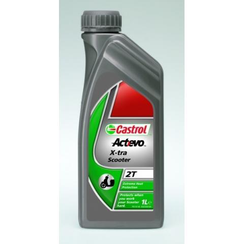 Motorový olej Castrol Act evo X-tra Scooter 2T 1l