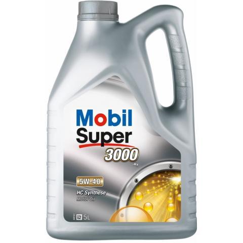 Motorový olej MOBIL SUPER 3000 X1 5W-40 5L
