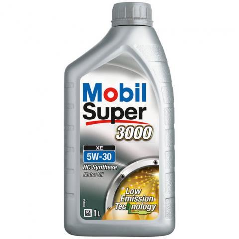 Motorový olej Mobil super 3000 xe 5w-30 1L.