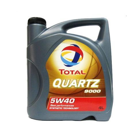 Motorový olej TOTAL QUARTZ 9000 4L 5W-40 4L.
