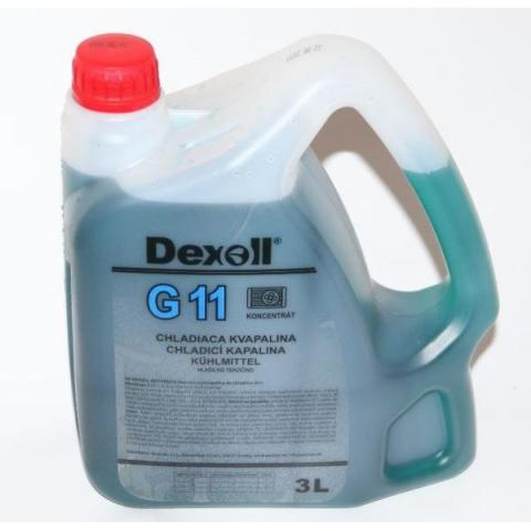 Dexoll Antifreeze G11 3L modrý
