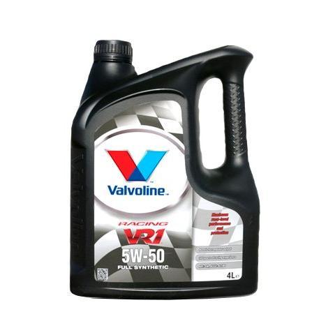 Motorový olej VALVOLINE VR1 RACING 5W-50, 4L