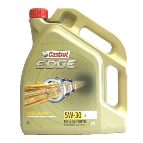 Motorový olej CASTROL EDGE TITANIUM FST 5W-30 LL 5L