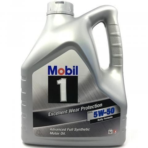 motorový olej Mobil FS X1 Rally Formula (Peak Life) 5W-50 4 l