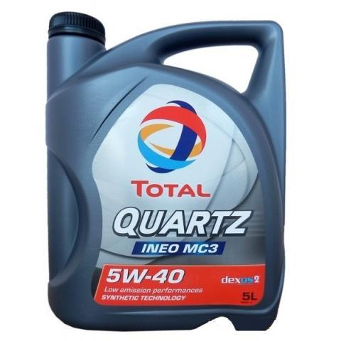 Total Quartz INEO MC3 5W-40 5 l