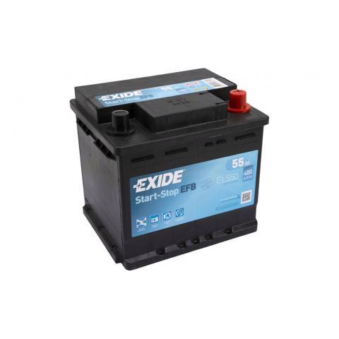 Autobateria EXIDE Start-Stop EFB 12V 55AH 480A EL550