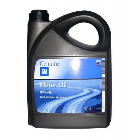 Motorový olej OPEL GENUINE GM 10W-40 5L.