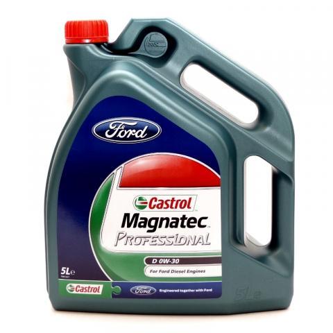 Motorový olej Castrol Magnatec Professional D 0W-30 5L.