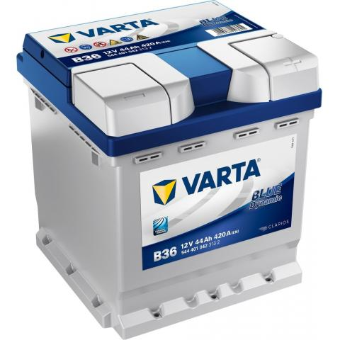 Autobateria VARTA BLUE dynamic 12V 44AH 420A B36