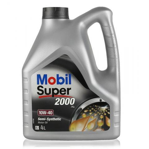 Motorový olej MOBIL SUPER 2000 X1 10W-40 4L