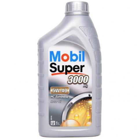 Motorový olej MOBIL SUPER 3000 X1 5W-40 1L