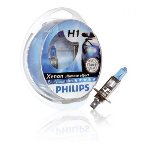 Philips 12V H1 Blue Vision Ultra Box