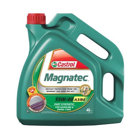 motorový olej CASTROL MAGNATEC 15W-40 4L.
