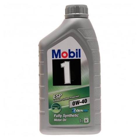 Motorový olej Mobil 1 ESP 0W-40 1L.