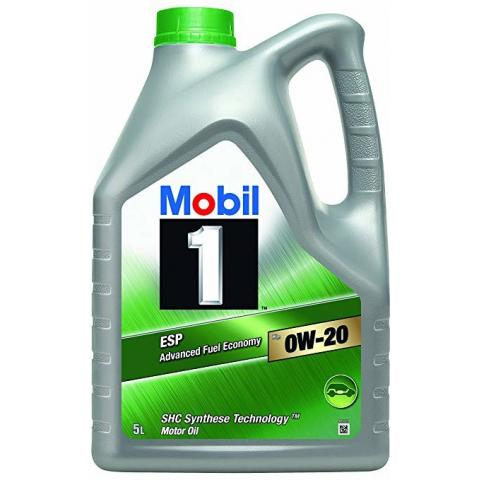 Motorový olej Mobil 1 ESP x2 0W-20 5L.