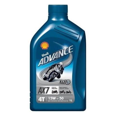 Shell Advance AX7 4T 15W-50 1L.