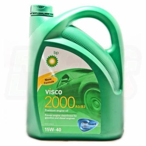 BP Visco 2000  Diesel 15W-40 4L