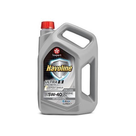 Motorový olej Texaco Havoline Ultra S 5W-30 4 l
