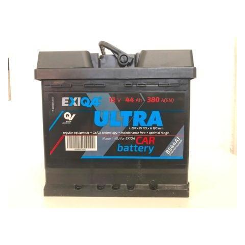 Autobateria Exiqa Ultra 12V 44Ah 380A 207x175x190mm