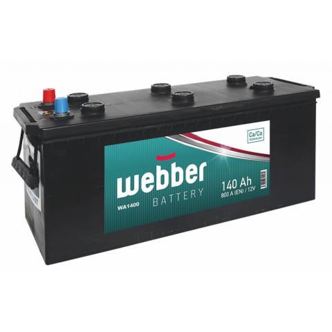 Autobateria WEBBER 12V 140AH 800A