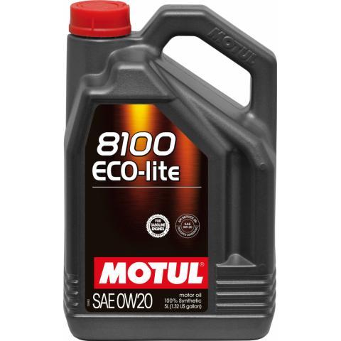 Motorový olej Motul 8100 Eco-Lite 0W-20 5L.