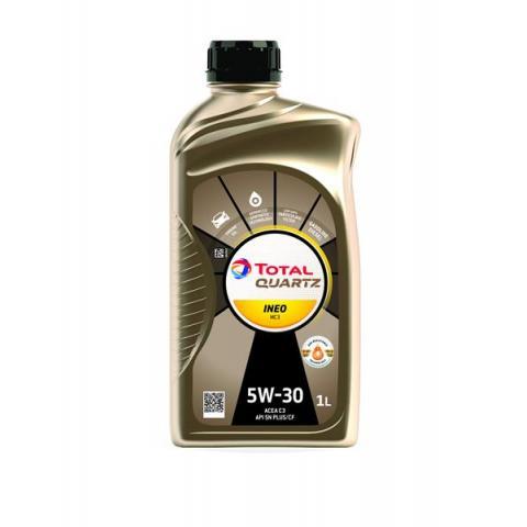 Motorový olej TOTAL QUARTZ INEO MC3 5W-30 1L.