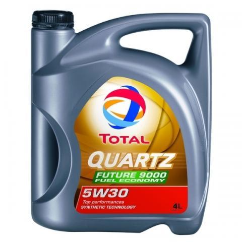 Motorový olej TOTAL Quartz Future NFC 9000  5W-30 4L.