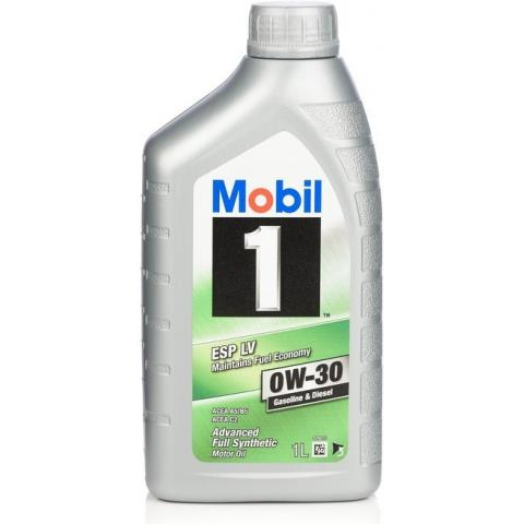 Motorový olej Mobil 1 ESP LV 0W-30 1L.