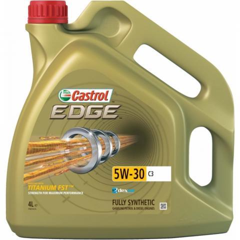Motorový olej Castrol Edge Titanium FST C3 5W-30 4L.