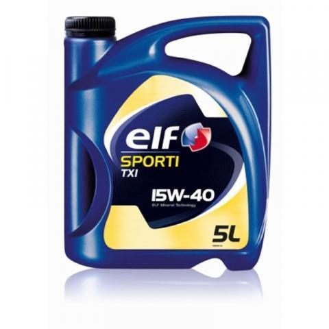 motorový olej ELF Sporti TXI 15W-40 5L