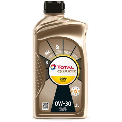 Motorový olej Total quartz energy 9000 0w-30 1L.