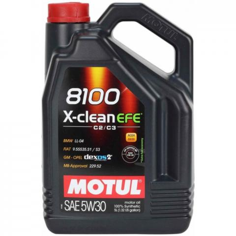 Motorový olej Motul 8100 X-Clean EFE 5W-30 5 l