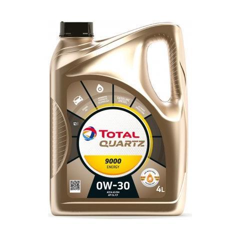 TOTAL Quartz Energy 9000 0W-30 4L.