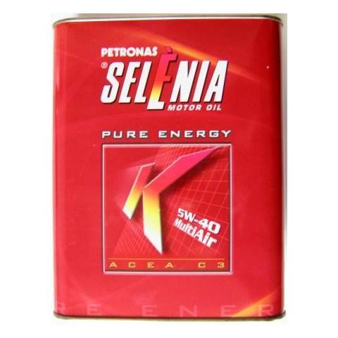 Motorový olej SELENIA K PURE ENERGY 5W-40 C3 2L