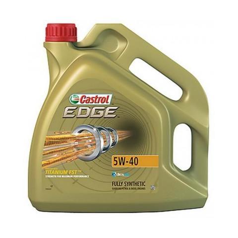 Motorový olej Castrol EDGE Titanium FST 5W-40 5L.