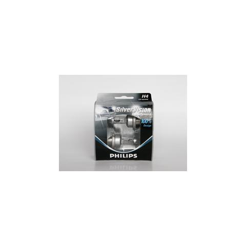 H4 12V 60/55W Silver Vision(set 2pcs)