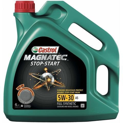 Motorový olejCastrol Magnatec 5W-30 A5 Stop-Start 4L