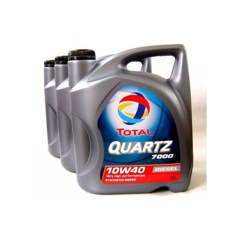 Motorový olej TOTAL QUARTZ 9000  5W-40 3x5L.