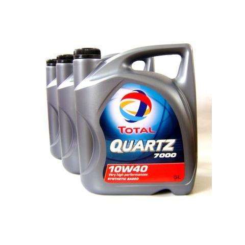 Motorový olej Total quartz 7000 10w-40 3x5l