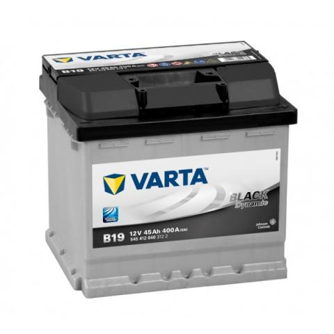 Autobatéria VARTA BLACK dynamic 12V 45Ah 400A B19t  ,  545412040