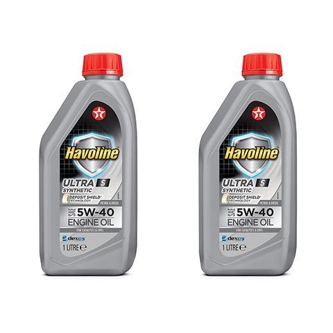 Motorový olej Texaco Havoline Ultra S 5W-30 1 l