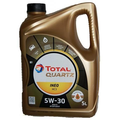 Total QUARTZ INEO MC3 5W-30 5L.
